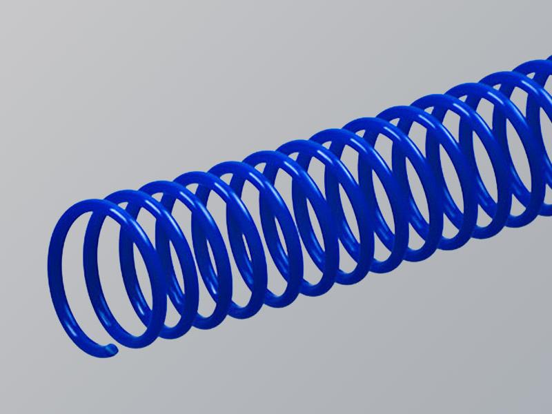 Plastic Spiral, Blue