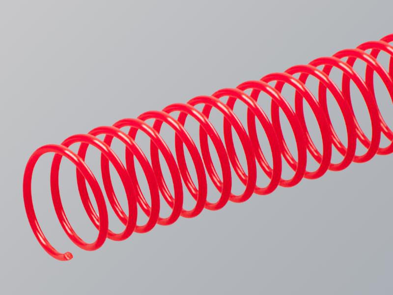 Plastic Spiral, Dark Red