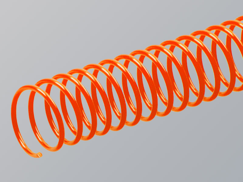 Plastic Spiral, Orange