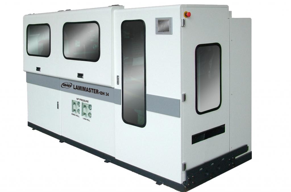 GMP Lamimaster Series – Inline or offline web laminator