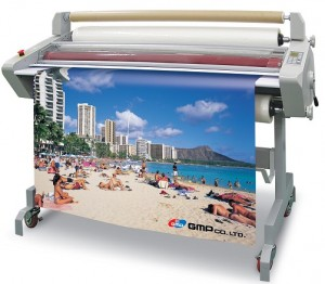 GMP EXCELAM Q wide format laminating machine