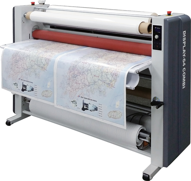 GMP DISPLAY 64 wide format laminating machine