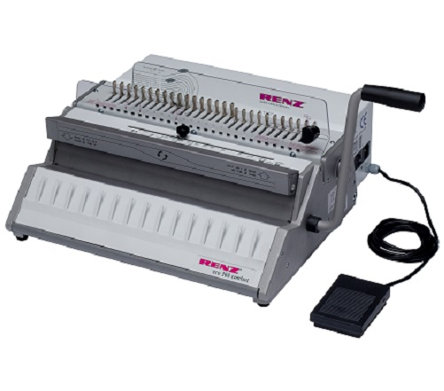 RENZ ECO 360 Comfortplus 2:1 Wire Binding Machine