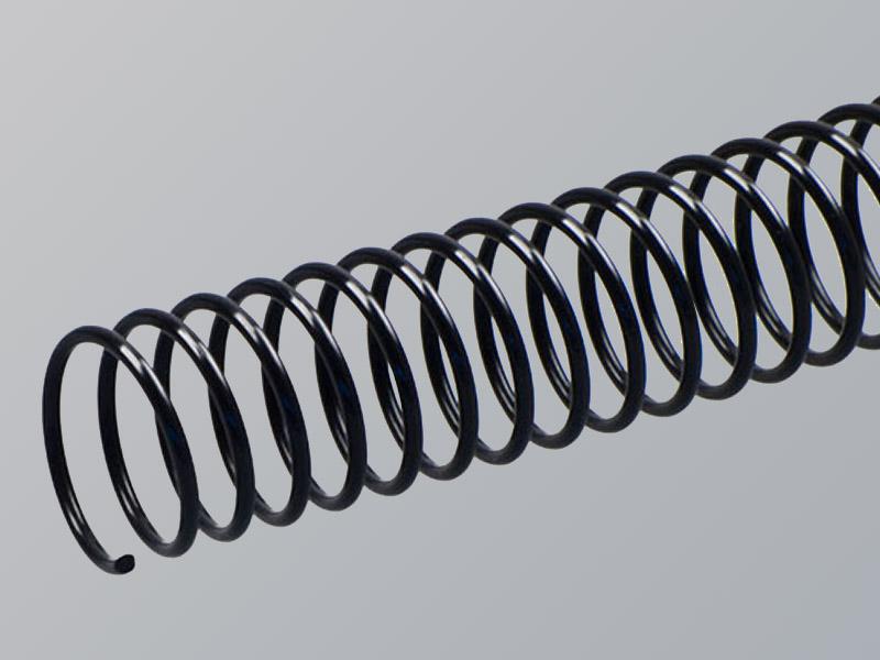 Plastic Spiral, Black