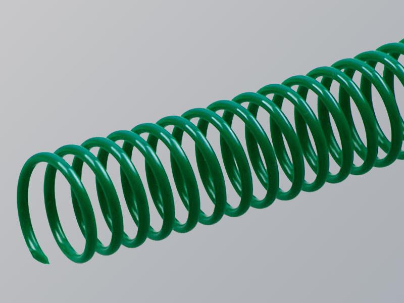 Plastic Spiral, Green
