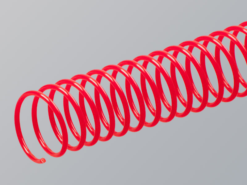 Plastic Spiral, Dark Red