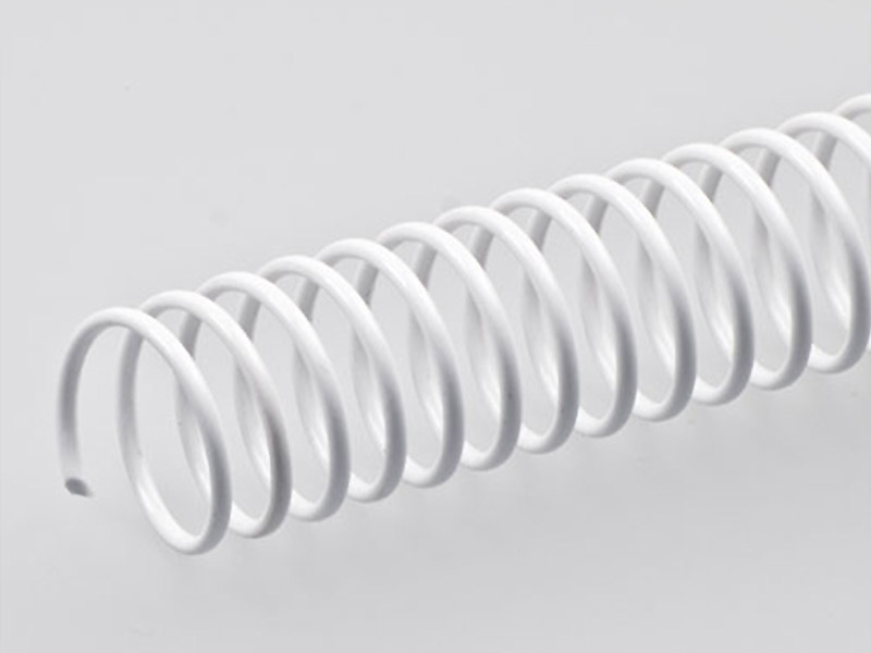 Plastic Spiral, White
