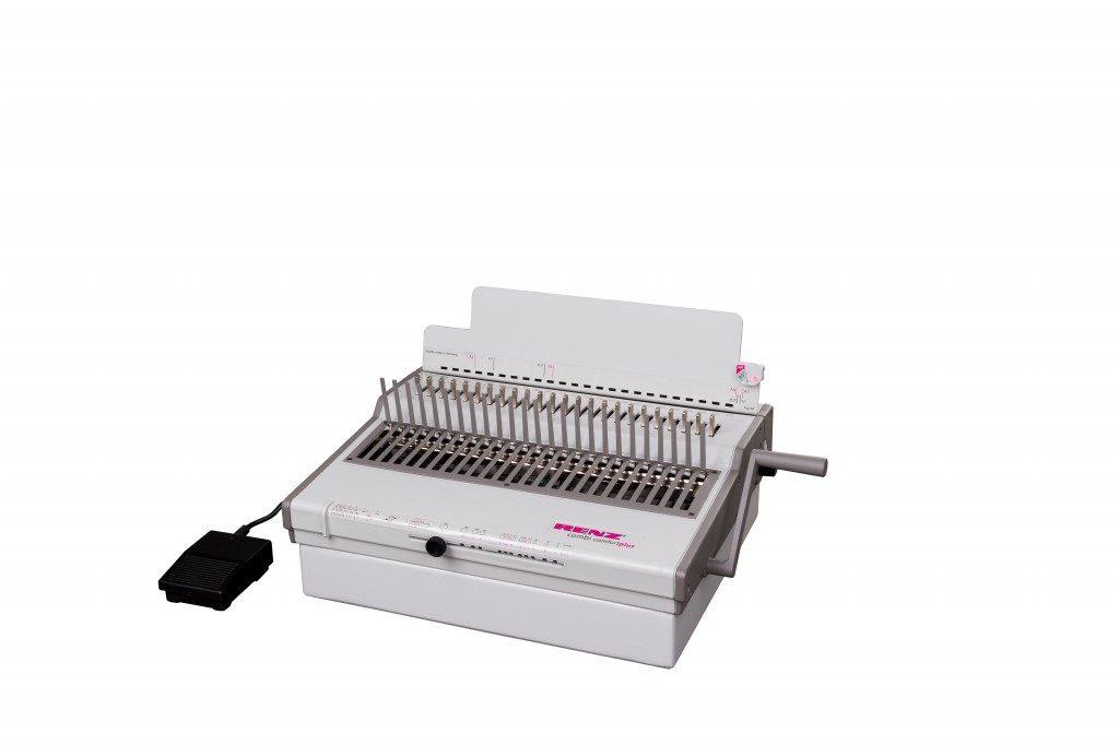RENZ Combi Comfortplus Plastic Comb Binding Machine - Renz Australia