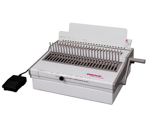 RENZ Combi Comfortplus Plastic Comb Binding Machine