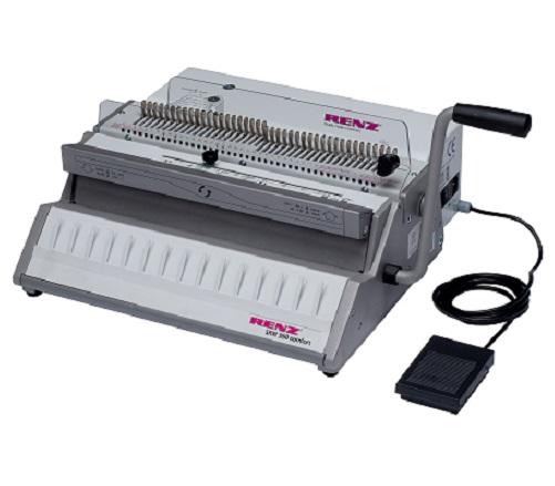 RENZ SRW Comfort 360 3:1 Wire Binding Machine